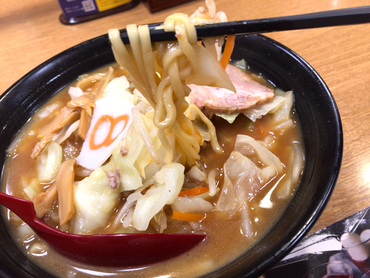 野菜らーめん(味噌)