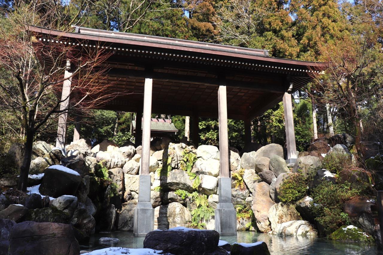 白山比咩神社の禊社・禊場