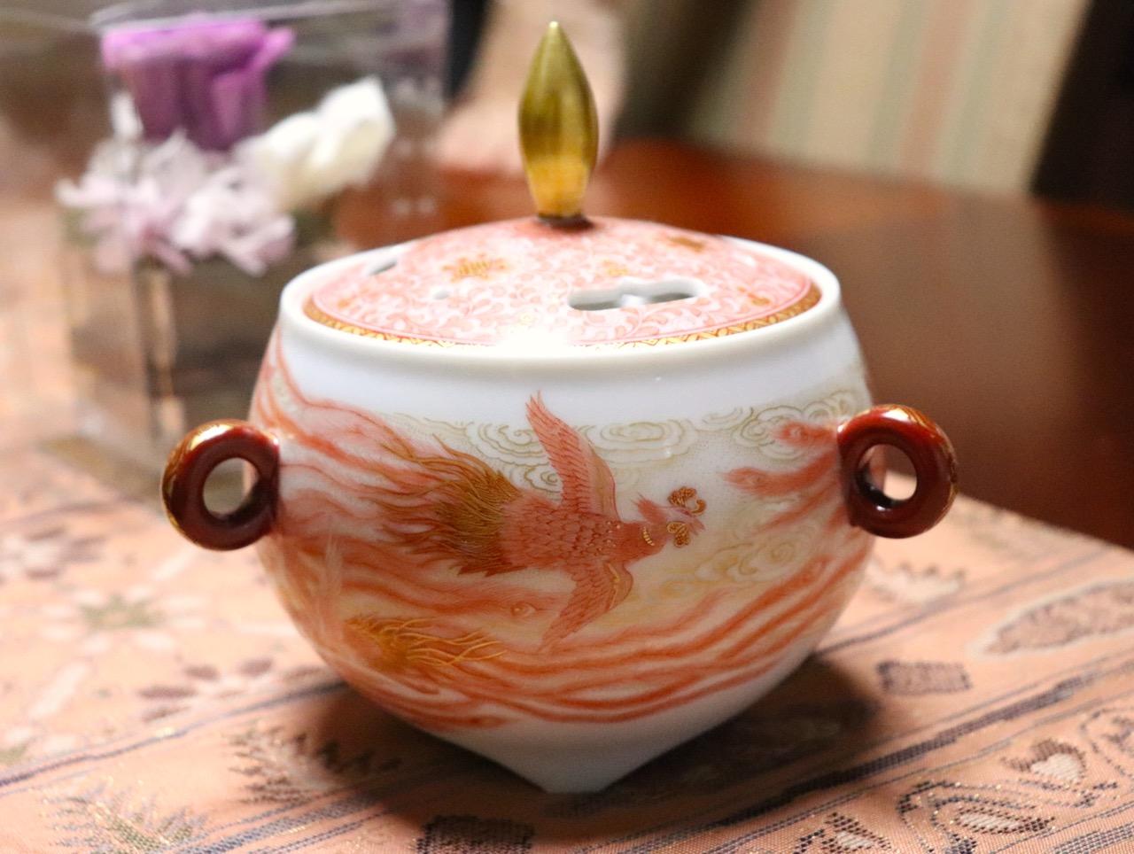 九谷焼の赤絵