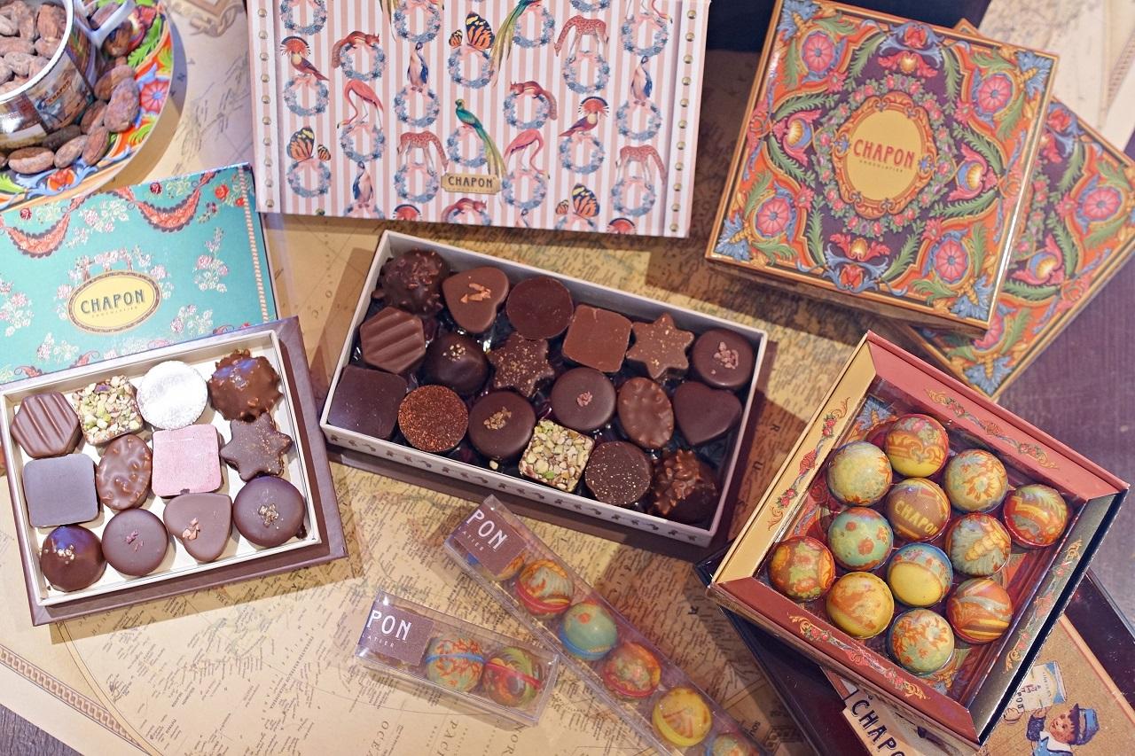 まるで宝石箱!パリジェンヌに大人気の「シャポン」のショコラコレクション