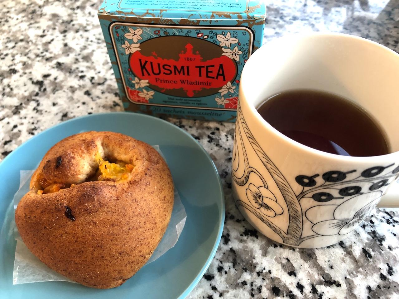 KUSMI TEA(クスミティー) パンとともに