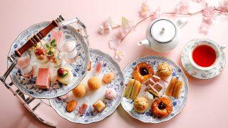 シェラトン都ホテル大阪「いちごと桜」スイーツフェア