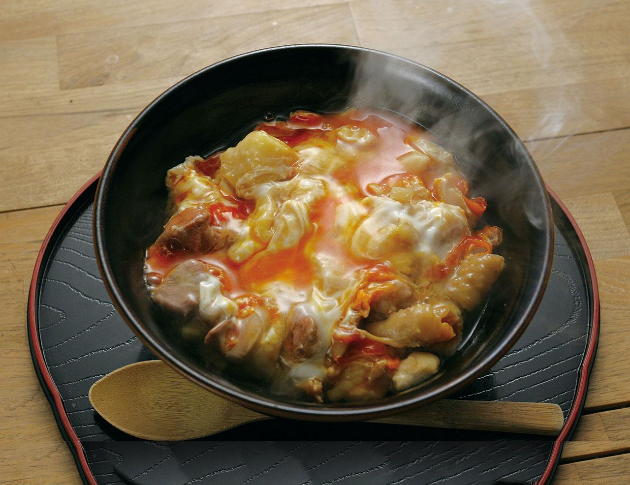 小田急うまいものめぐり「」中村農場の甲斐路軍鶏の親子丼