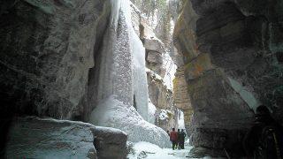 ジャスパーマリーン渓谷 Jasper Maligne Canyon