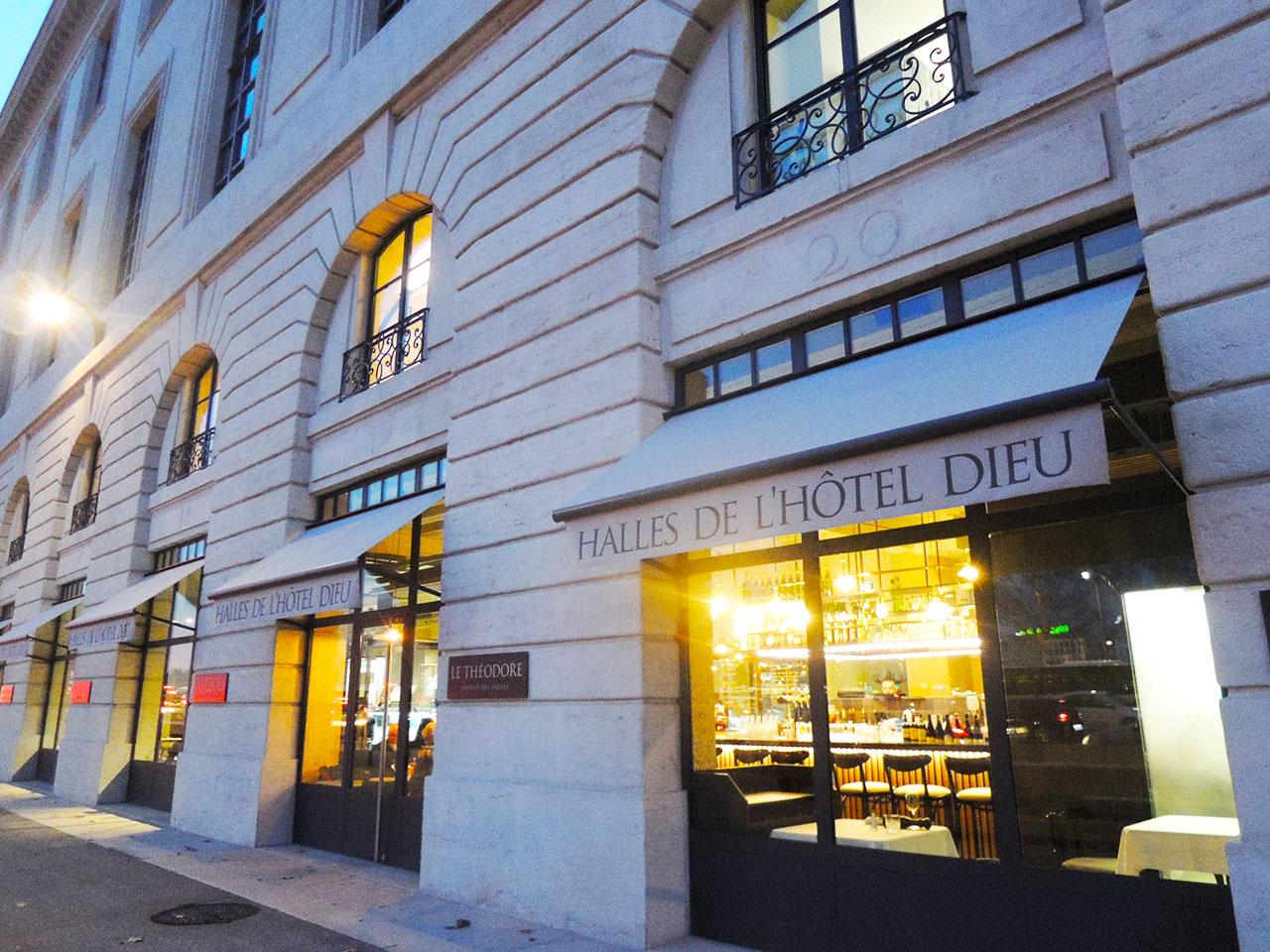 Les Halles Grand Hôtel-Dieu(レアル・グラン・オテルデュー)