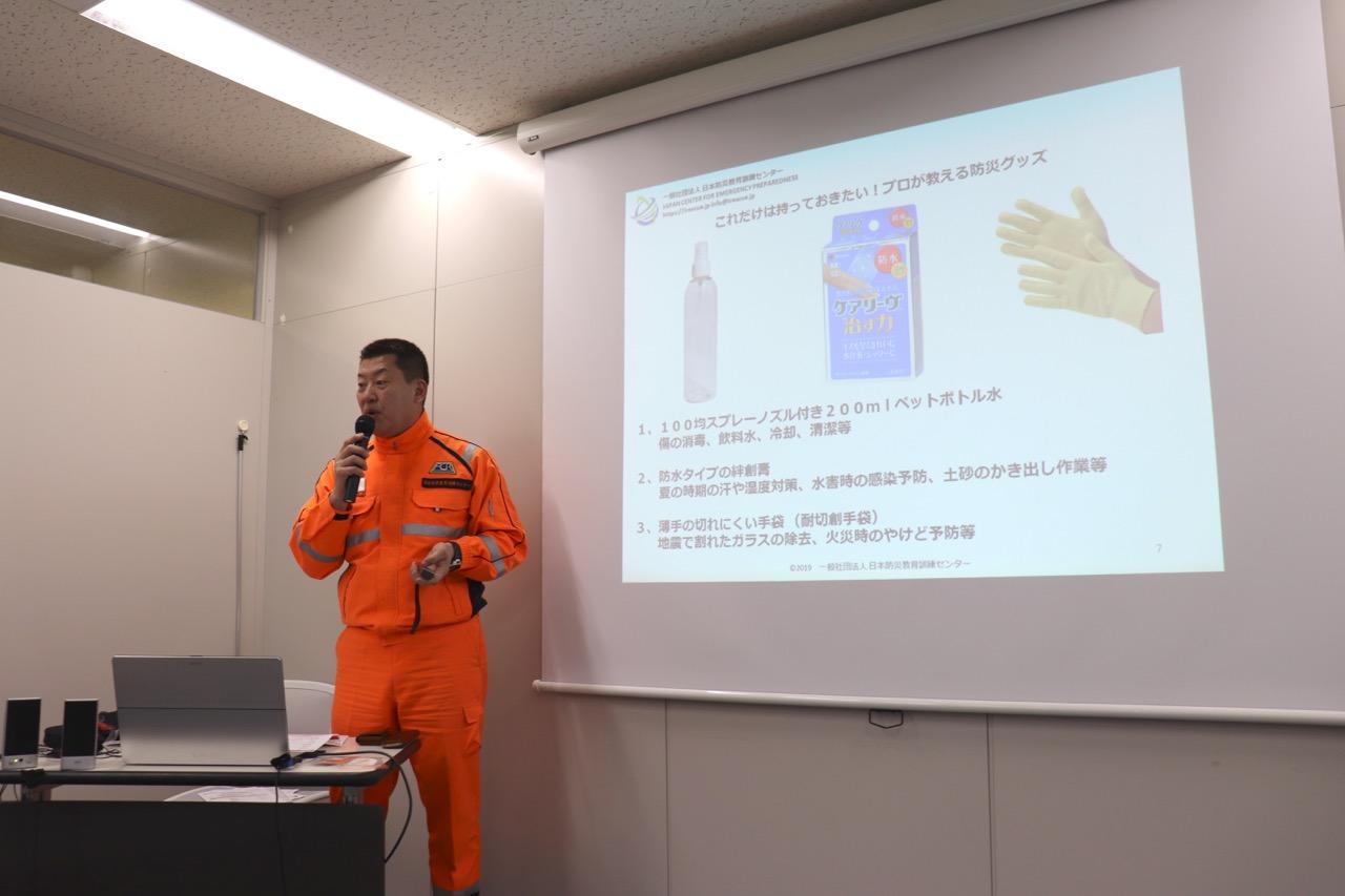 一般社団法人日本防災教育訓練センターの代表理事・サニーカミヤ氏
