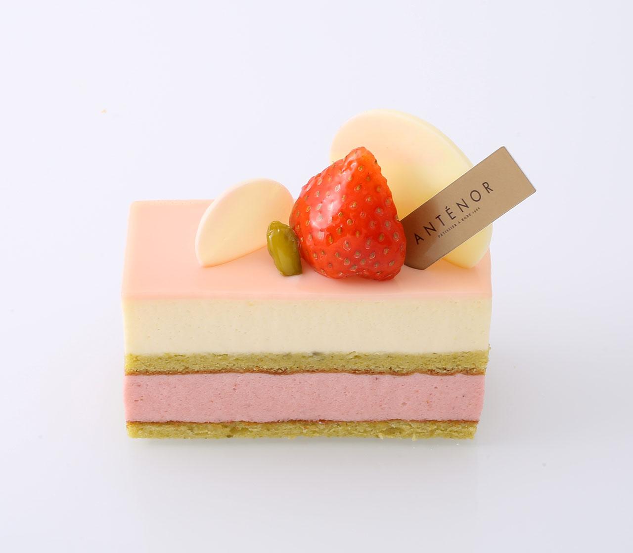 アンテノール「苺のショコラブラン」