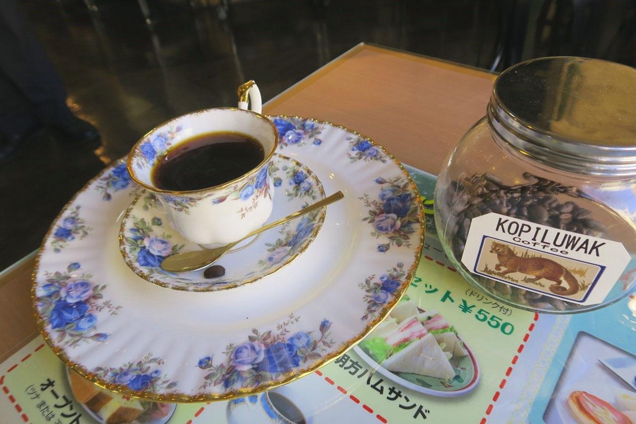 喫茶ツヅキコーヒー1