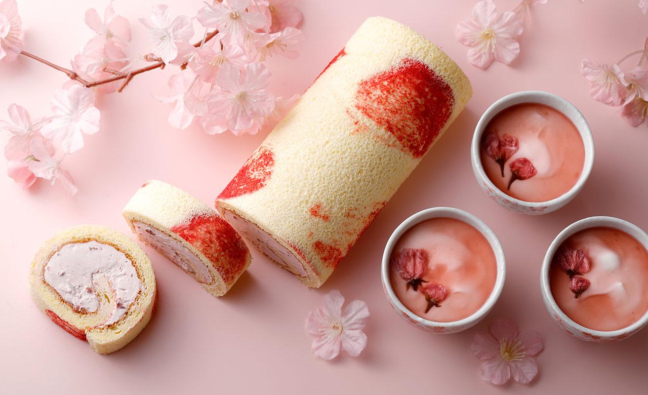 シェラトン都ホテル大阪カフェベル「桜スイーツ&ブレッド」
