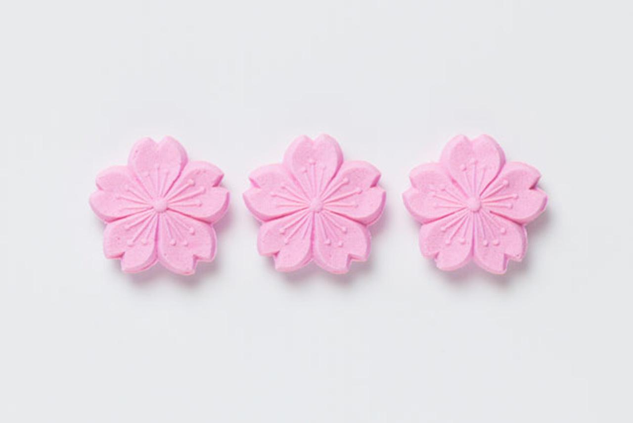 大丸京都「さくら 特集」永楽屋 (佃煮売場)「お干菓子 桜」