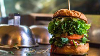 「太陽のマルシェ」smallaxe「ハンバーガー」