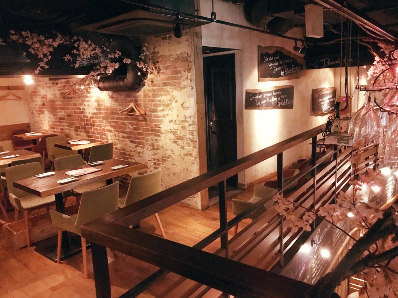 イタリアンバル2階