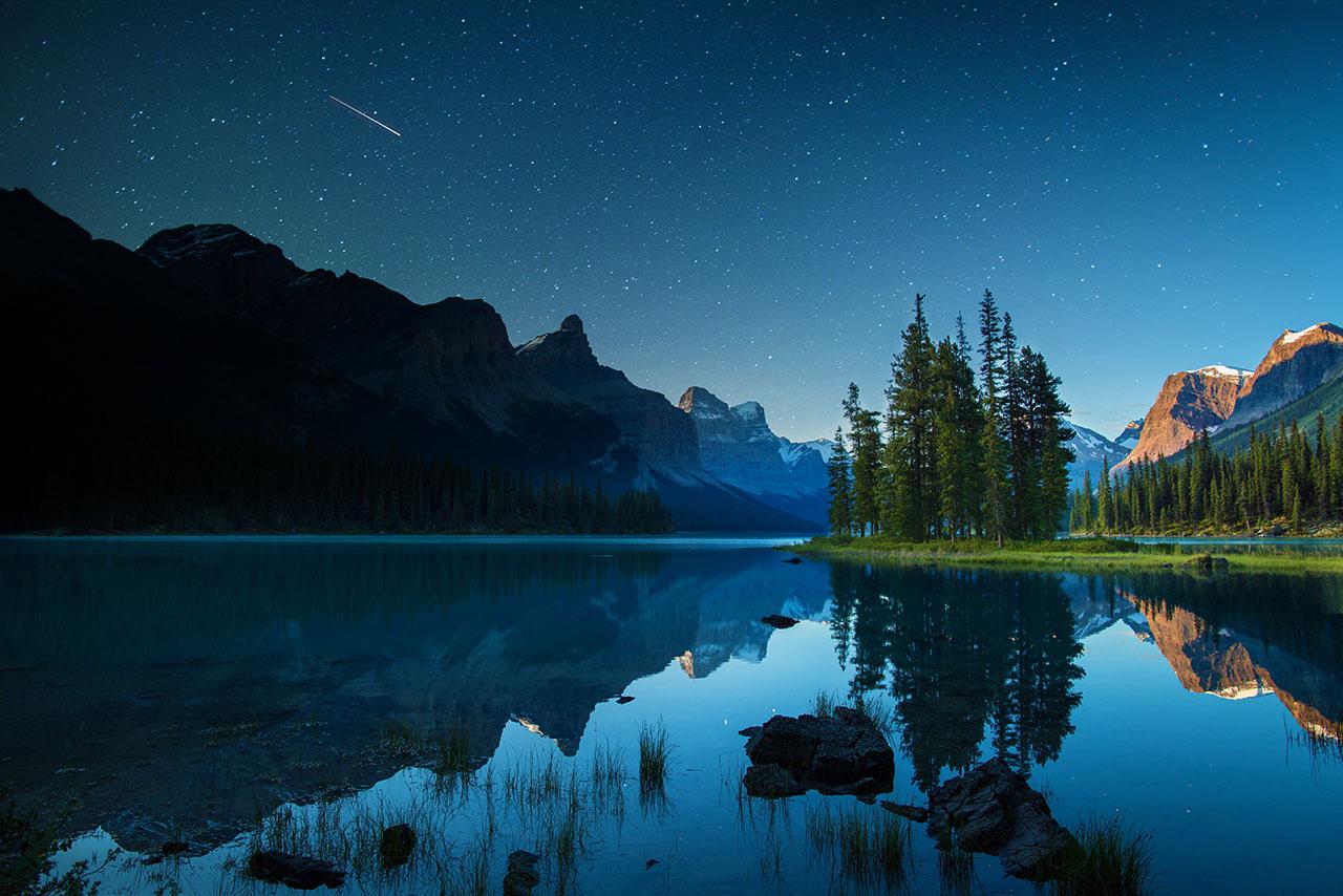 ジャスパー、マリーン湖(Maligne Lake, Jasper)