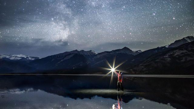 ジャスパー湖(Jasper Lake, Jasper) Stargazing