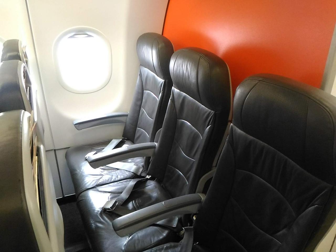 ジェットスターの機内シート