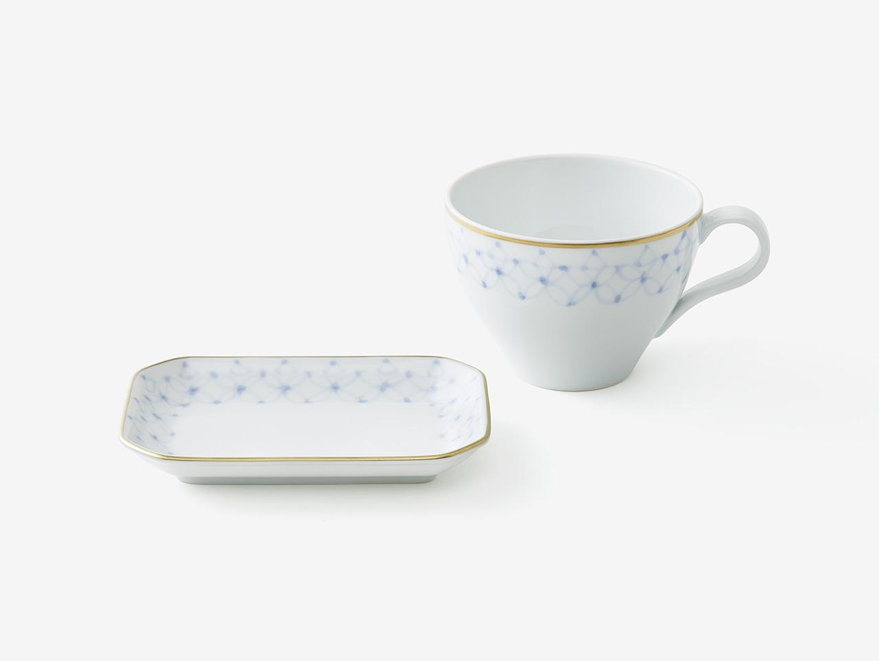 フィナンシェと紅茶の器「アンリ・シャルパンティエモデル」