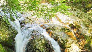 愛媛県河鹿の滝