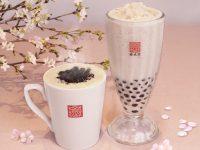 台湾の春水堂(チュンスイタン)「タピオカ桜ミルクティー」