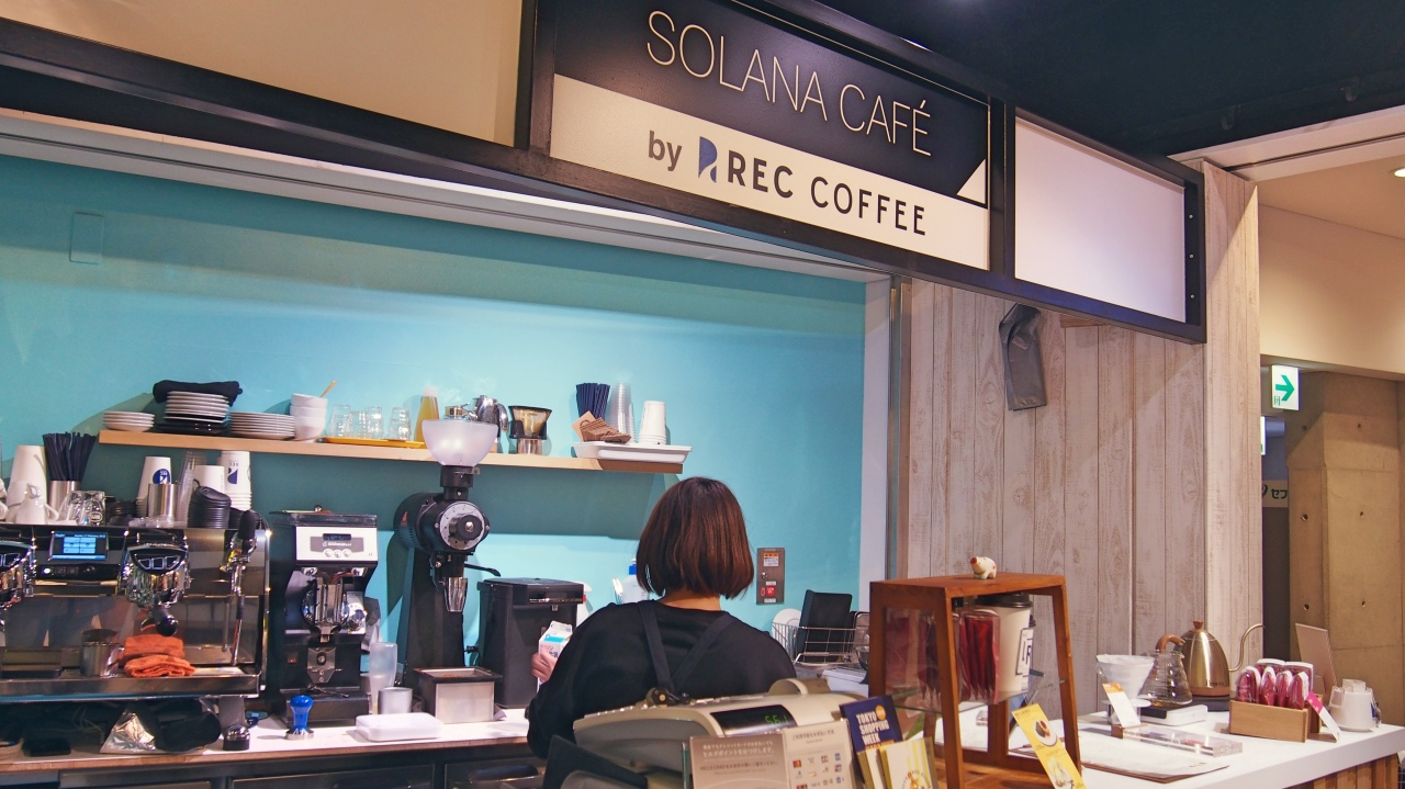 SOLANA CAFÉ by REC COFFEE 外観