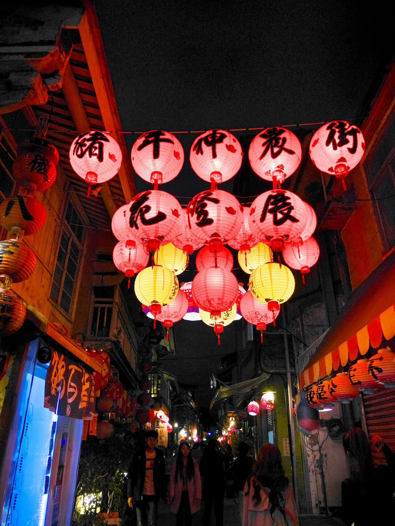 台南ランタンフェスティバル 2019_神農街01