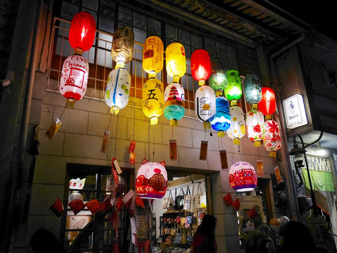 台南ランタンフェスティバル 2019_神農街05