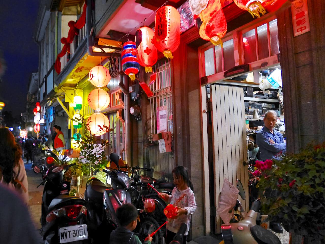 台南ランタンフェスティバル 2019_神農街06