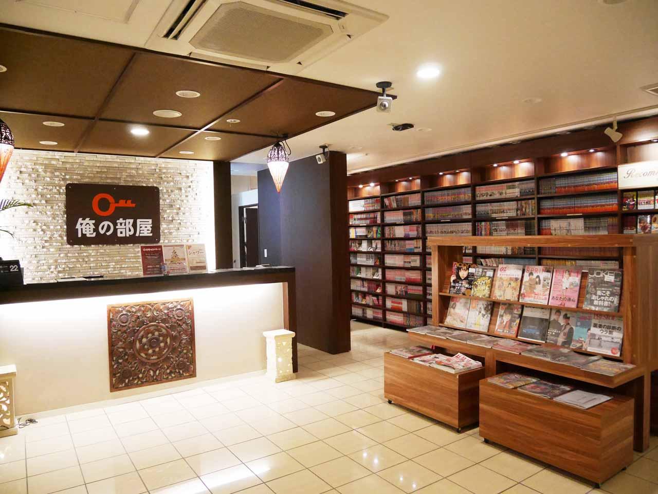 カップルに人気の横浜最大級ネットカフェ「俺の部屋」が開業5周年を迎えます。横浜駅から徒歩3分です