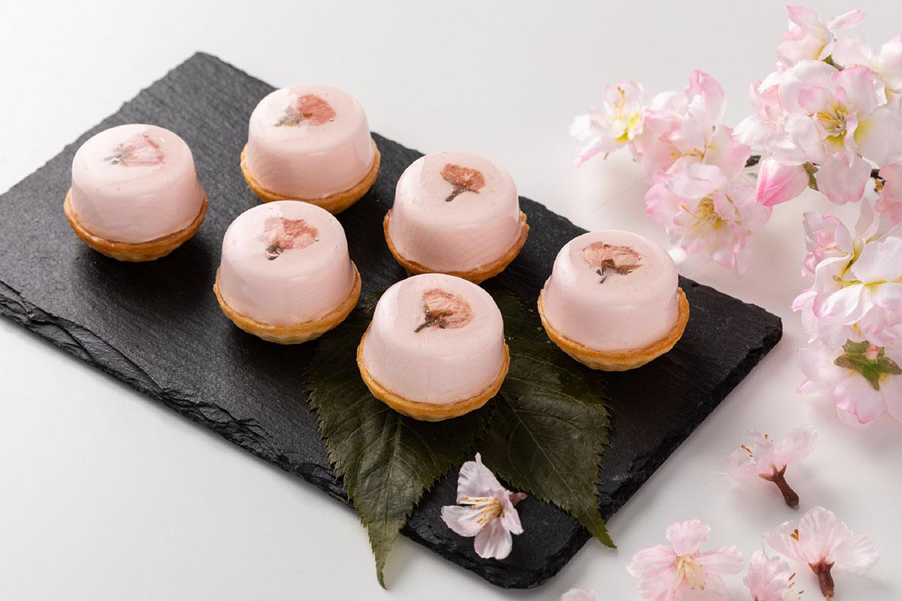グランドハイアット東京「桜スイーツ コレクション」桜のタルトレット