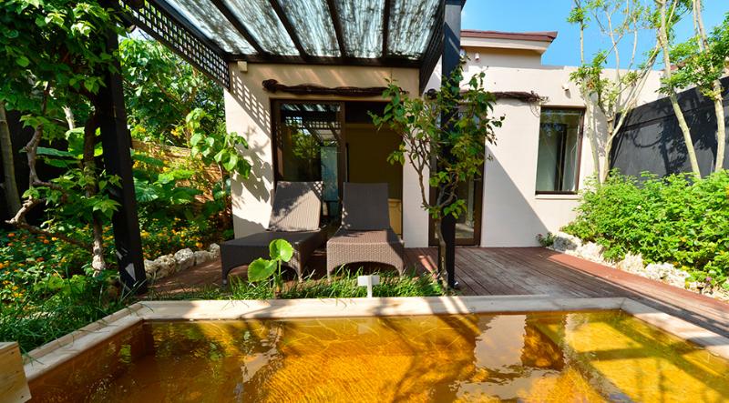 シギラ黄金温泉のプライベートルーム