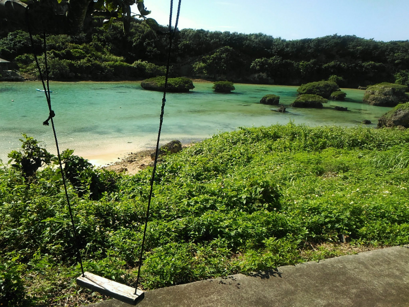イムギャーマリンガーデンは宮古島の天然のプール