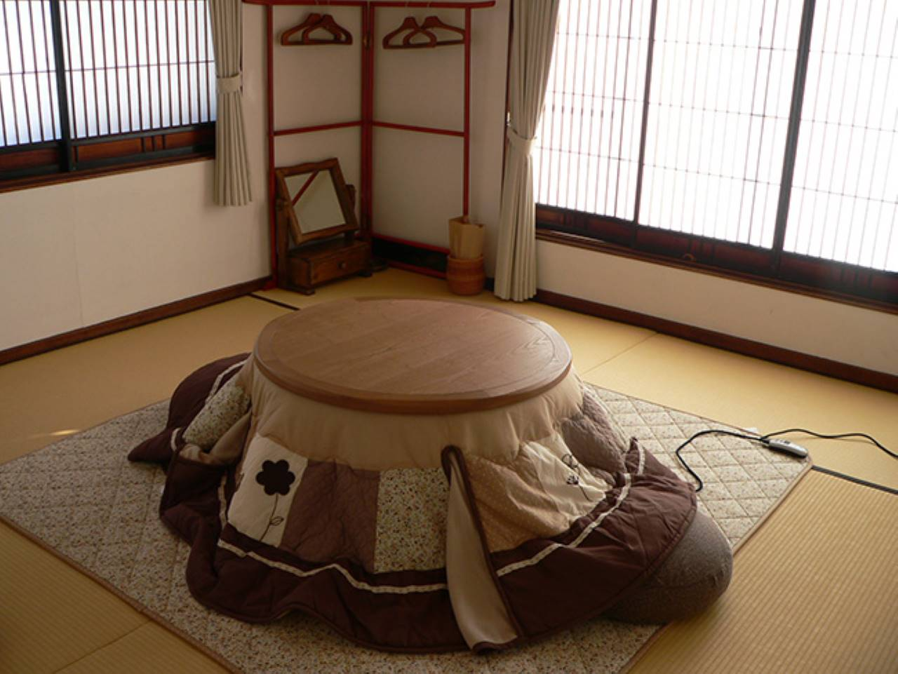 鷲ヶ峰ヒュッテ和室