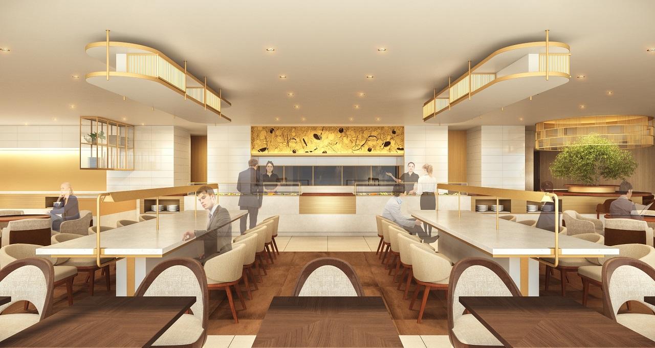 。成田空港本館4階JALファーストクラスラウンジが4月1日よりリニューアルオープン