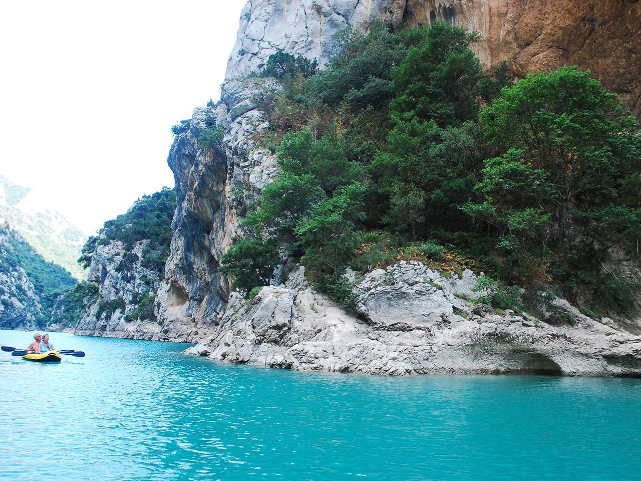 ヴェルドン渓谷(les gorges du Verdon)