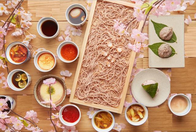 桜と蕎麦の香りのマリアージュ!女性に人気のお蕎麦屋さんに桜メニューが登場