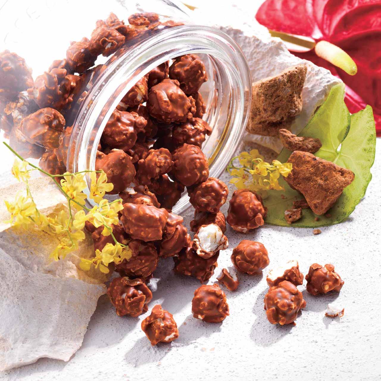 ロイズ石垣島 黒糖ポップコーンチョコレート