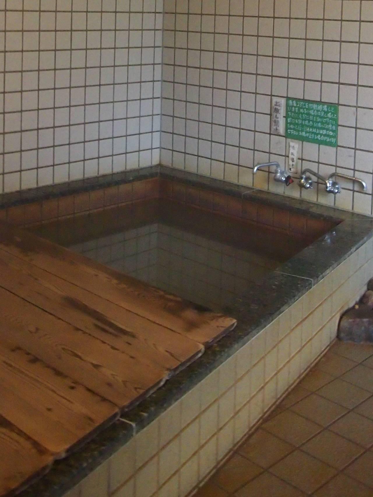 温泉小屋浴室