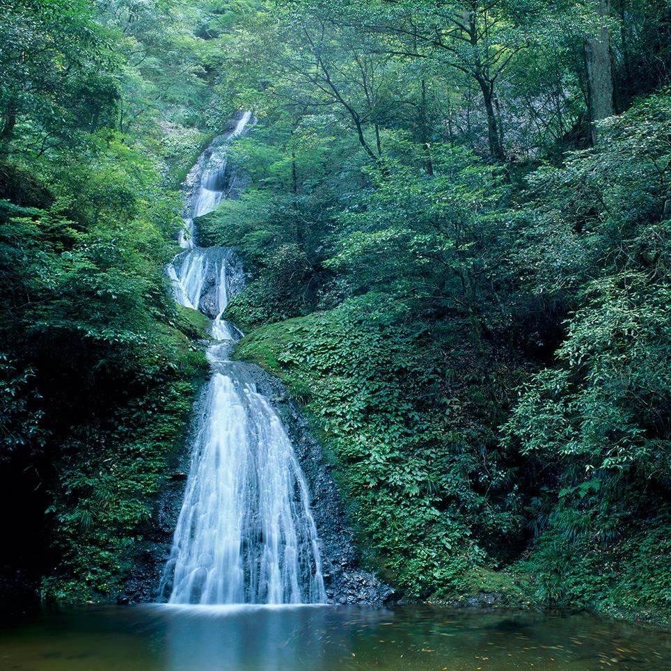 阿寺の七滝/愛知県新城市