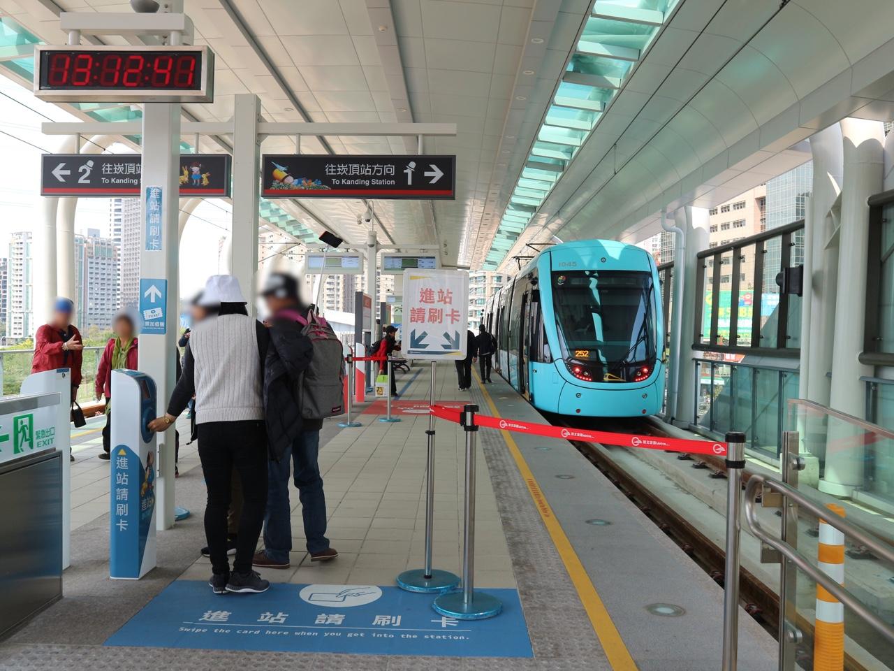 淡海ライトレール紅樹林駅