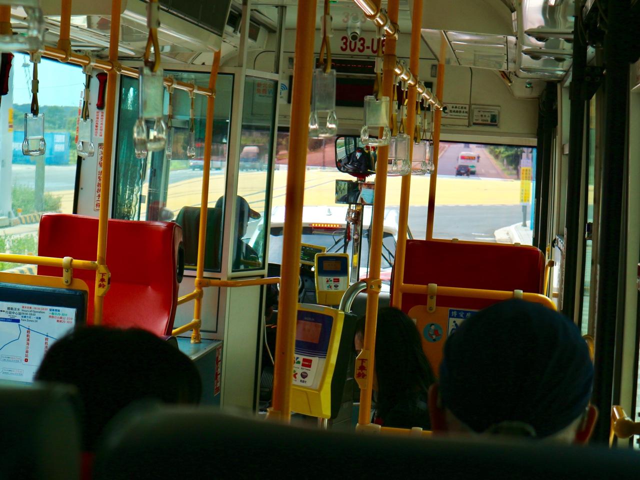バスで漁人碼頭へ