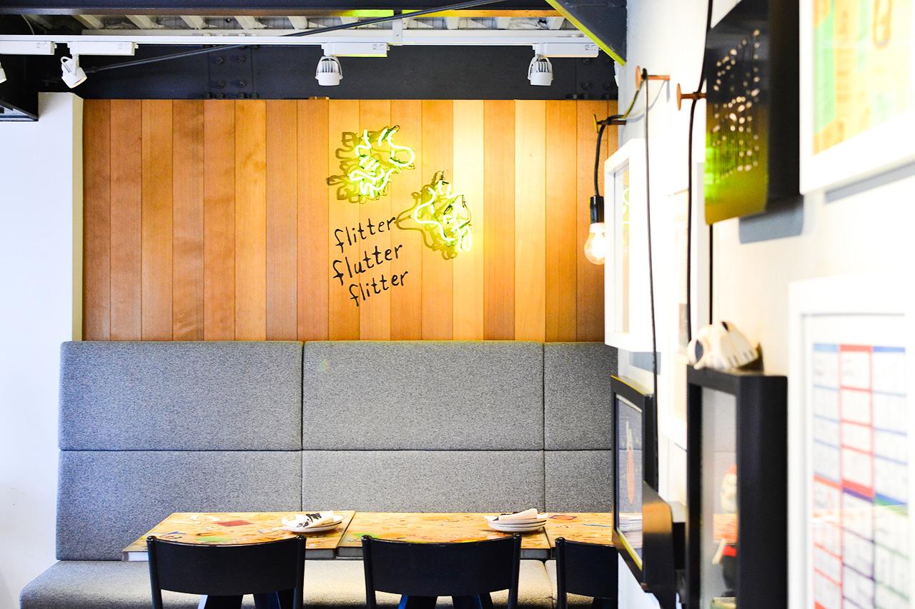 PEANUTS Cafe 2階座席①