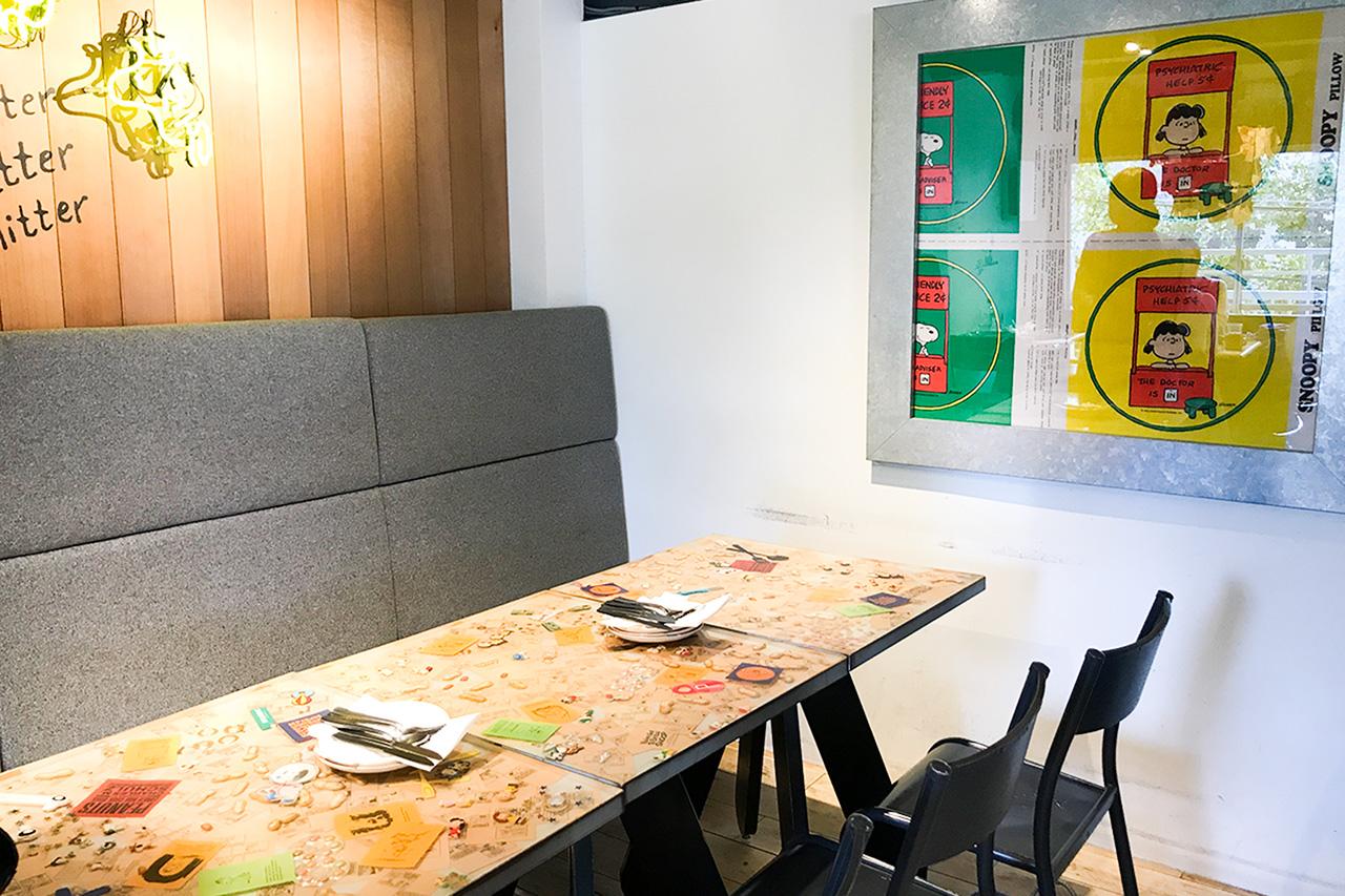PEANUTS Cafe 2階座席②