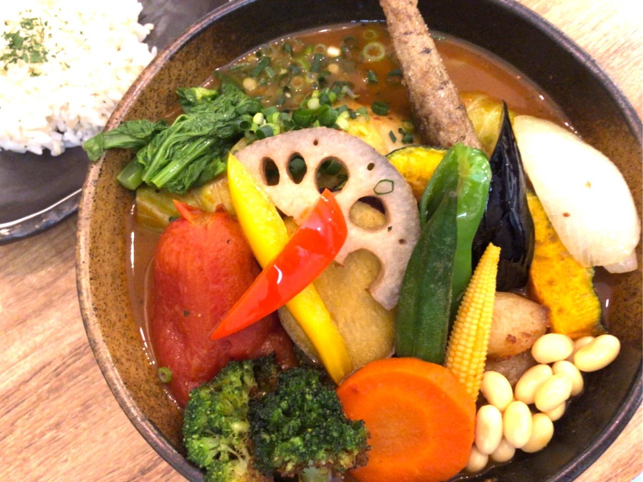 Rojiura Curry SAMURAI.吉祥寺店 チキンと一日分の野菜20品目