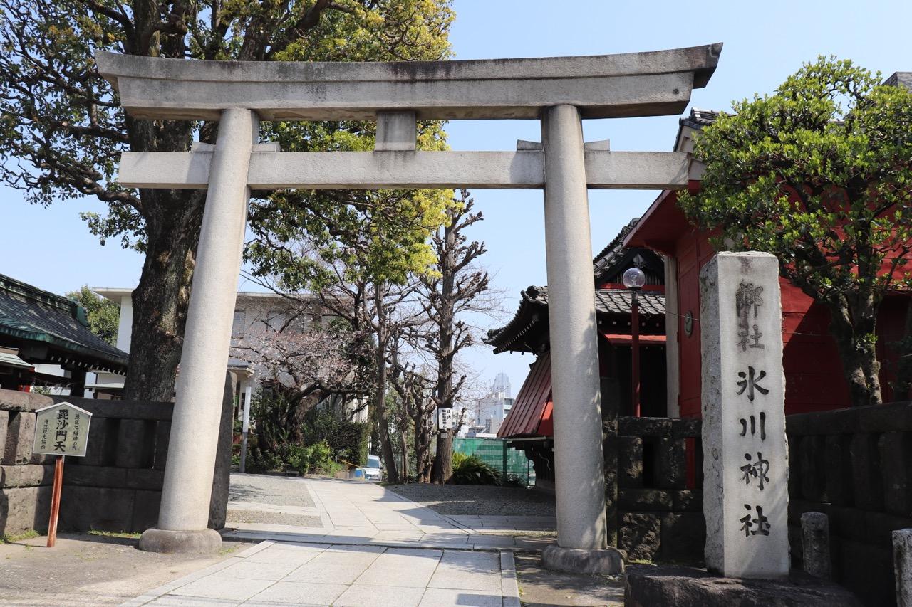 麻布氷川神社