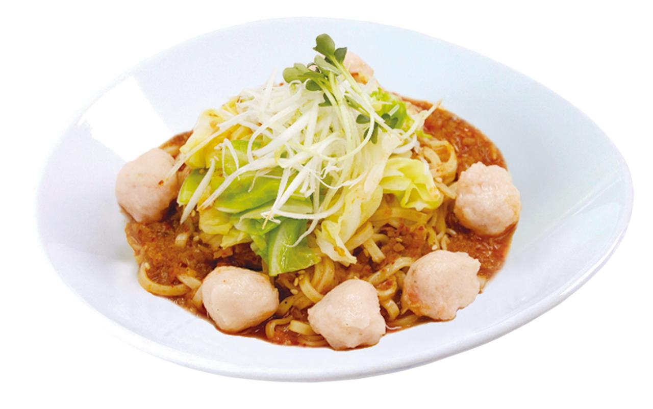 海老と春キャベツのXO醤麺
