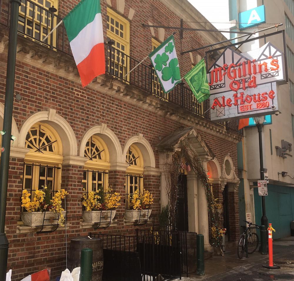 フィラデルフィア McGillin's Olde Ale House