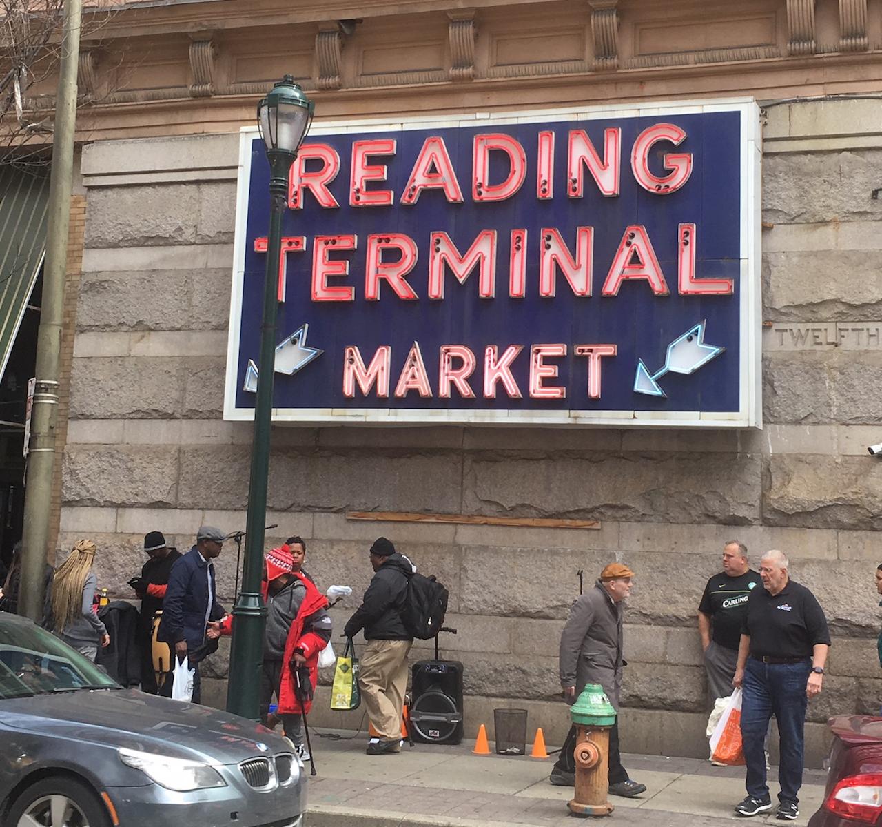 Reading Terminal Market フィラデルフィア
