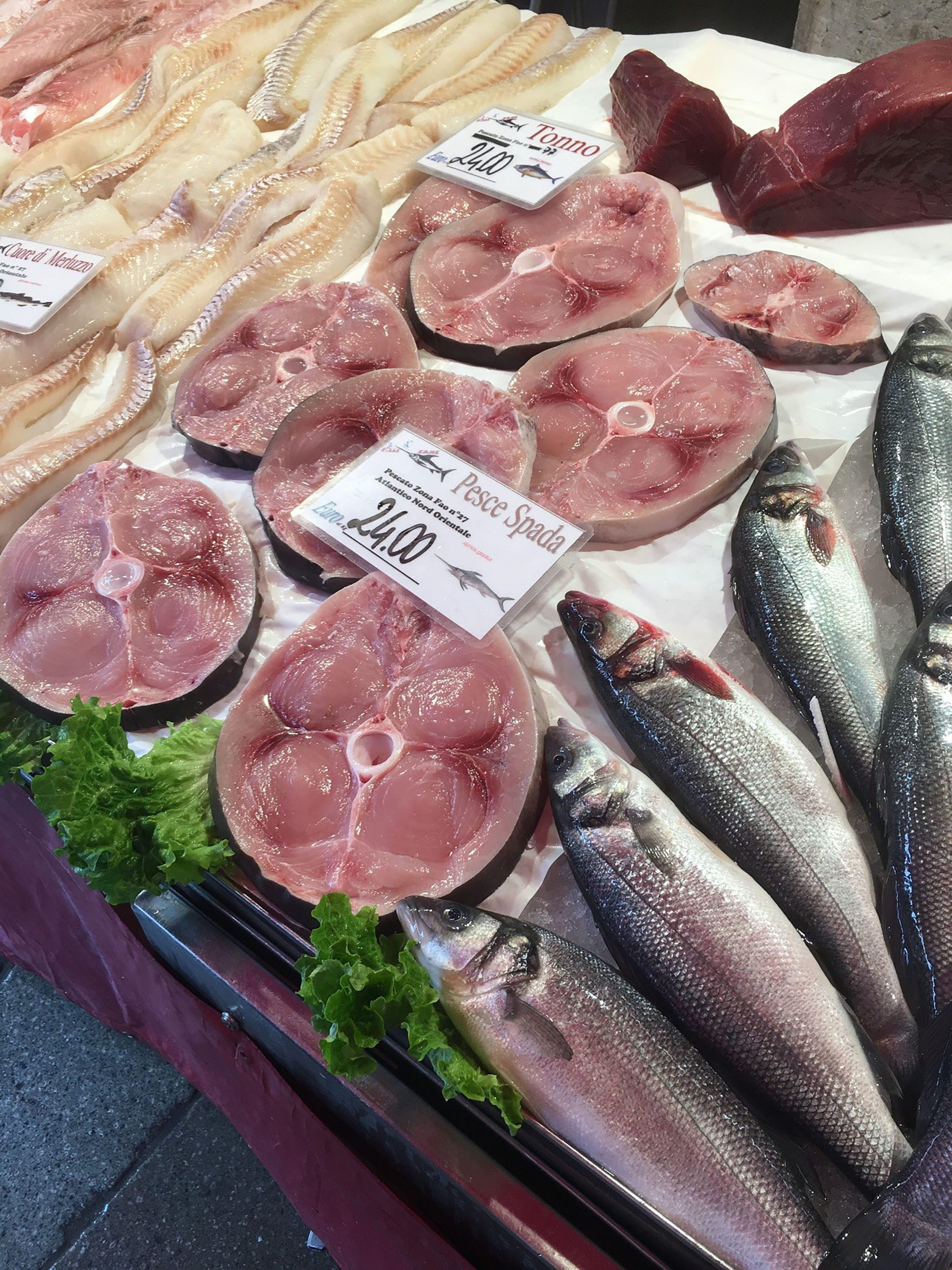 ベネチア魚市場2