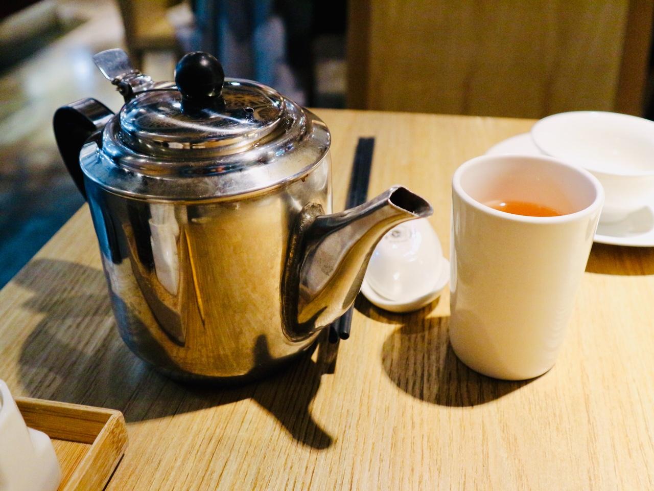 あたたかいお茶