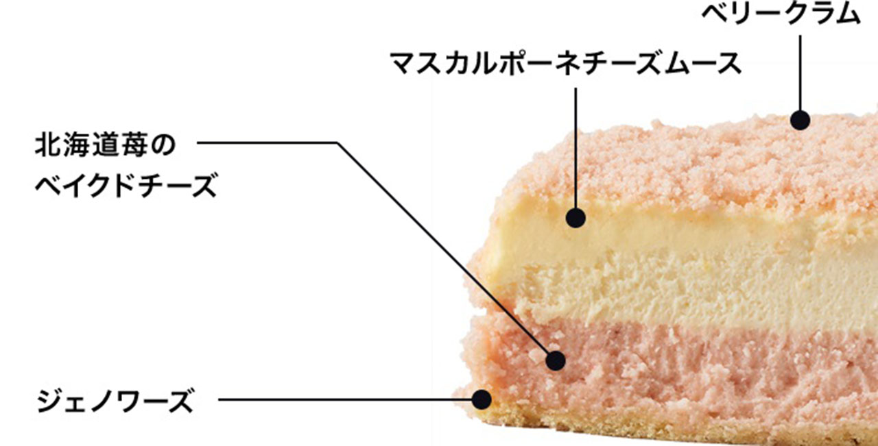 LeTaoルタオ「北海道苺のドゥーブル」
