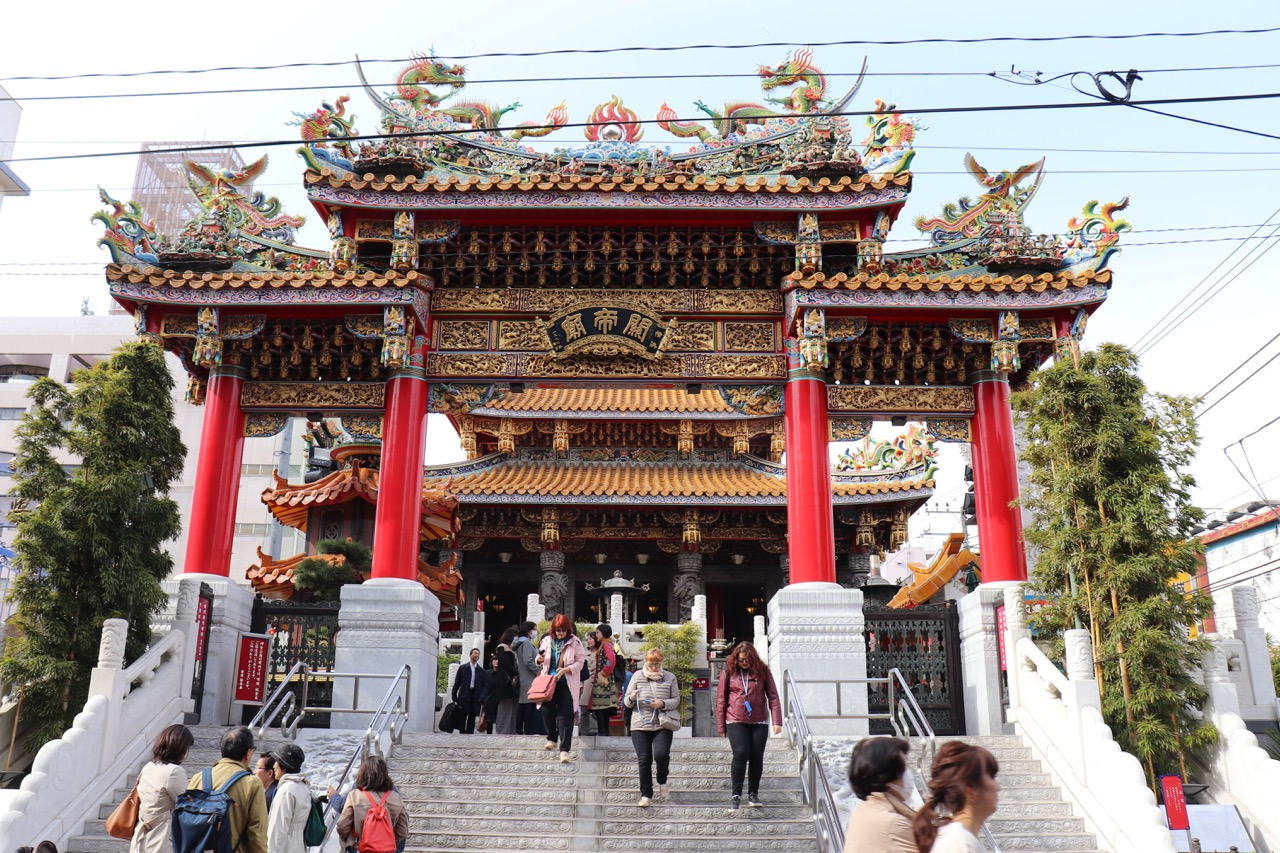 横浜関帝廟の入り口